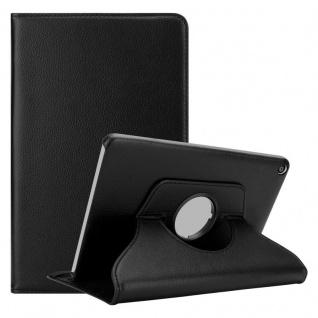 """"""" Cadorabo Tablet Hülle für Huawei MediaPad T3 8 (8, 0"""" Zoll) in HOLUNDER SCHWARZ ? Book Style Schutzhülle OHNE Auto Wake Up mit Standfunktion und Gummiband Verschluss"""""""