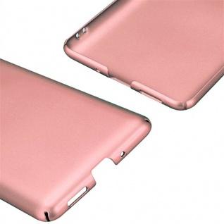 Cadorabo Hülle für Nokia 8 2017 in METALL ROSÉ GOLD - Hardcase Handyhülle aus Plastik gegen Kratzer und Stöße - Schutzhülle Bumper Ultra Slim Back Case Hard Cover - Vorschau 5