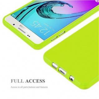 Cadorabo Hülle für Samsung Galaxy A5 2015 in JELLY GRÜN - Handyhülle aus flexiblem TPU Silikon - Silikonhülle Schutzhülle Ultra Slim Soft Back Cover Case Bumper - Vorschau 4