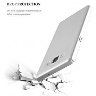 Cadorabo Hülle für Samsung Galaxy A5 2015 in METALL SILBER ? Hardcase Handyhülle aus Plastik gegen Kratzer und Stöße ? Schutzhülle Bumper Ultra Slim Back Case Hard Cover - Vorschau 5