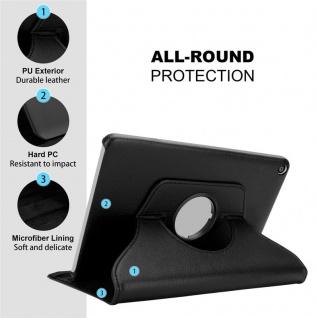 """Cadorabo Tablet Hülle für Huawei MediaPad T3 8 (8, 0"""" Zoll) in HOLUNDER SCHWARZ Book Style Schutzhülle OHNE Auto Wake Up mit Standfunktion und Gummiband Verschluss - Vorschau 4"""