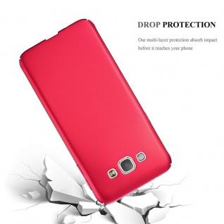 Cadorabo Hülle für Samsung Galaxy A8 2015 in METALL ROT ? Hardcase Handyhülle aus Plastik gegen Kratzer und Stöße ? Schutzhülle Bumper Ultra Slim Back Case Hard Cover - Vorschau 3