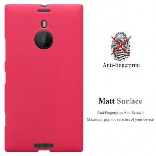 Cadorabo Hülle für Nokia Lumia 1520 in FROST ROT - Handyhülle aus flexiblem TPU Silikon - Silikonhülle Schutzhülle Ultra Slim Soft Back Cover Case Bumper - Vorschau 2