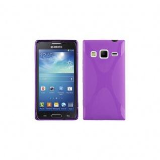 Cadorabo Hülle für Samsung Galaxy EXPRESS 2 in FLIEDER VIOLETT ? Handyhülle aus flexiblem TPU Silikon ? Silikonhülle Schutzhülle Ultra Slim Soft Back Cover Case Bumper