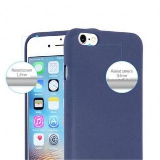 Cadorabo Hülle für Apple iPhone 6 PLUS / iPhone 6S PLUS in FROST DUNKEL BLAU - Handyhülle aus flexiblem TPU Silikon - Silikonhülle Schutzhülle Ultra Slim Soft Back Cover Case Bumper - Vorschau 2