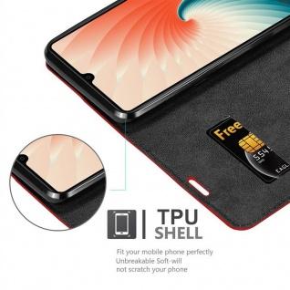Cadorabo Hülle für Huawei MATE 20 in APFEL ROT Handyhülle mit Magnetverschluss, Standfunktion und Kartenfach Case Cover Schutzhülle Etui Tasche Book Klapp Style - Vorschau 2