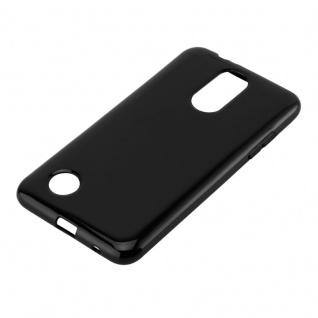 Cadorabo Hülle für LG K4 2017 in SCHWARZ - Handyhülle aus flexiblem TPU Silikon - Silikonhülle Schutzhülle Ultra Slim Soft Back Cover Case Bumper - Vorschau 2