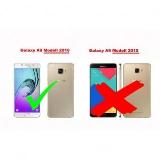 Cadorabo Panzer Folie für Samsung Galaxy A9 2016 - Schutzfolie in KRISTALL KLAR - Gehärtetes (Tempered) Display-Schutzglas in 9H Härte mit 3D Touch Kompatibilität - Vorschau 5