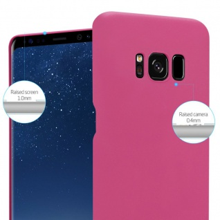 Cadorabo Hülle für Samsung Galaxy S8 PLUS in FROSTY PINK - Hardcase Handyhülle aus Plastik gegen Kratzer und Stöße - Schutzhülle Bumper Ultra Slim Back Case Hard Cover - Vorschau 4