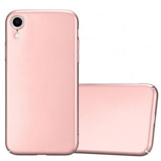 Cadorabo Hülle für Apple iPhone XR in METALL ROSÉ GOLD Hardcase Handyhülle aus Plastik gegen Kratzer und Stöße Schutzhülle Bumper Ultra Slim Back Case Hard Cover