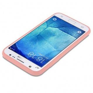 Cadorabo Hülle für Samsung Galaxy J5 2015 in CANDY ROSA - Handyhülle aus flexiblem TPU Silikon - Silikonhülle Schutzhülle Ultra Slim Soft Back Cover Case Bumper - Vorschau 3