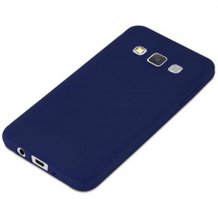 Cadorabo Hülle für Samsung Galaxy A3 2015 in CANDY DUNKEL BLAU - Handyhülle aus flexiblem TPU Silikon - Silikonhülle Schutzhülle Ultra Slim Soft Back Cover Case Bumper - Vorschau 5