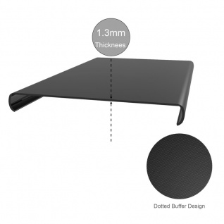 Cadorabo Hülle für Samsung Galaxy A8 2018 in SCHWARZ - Handyhülle aus flexiblem TPU Silikon - Silikonhülle Schutzhülle Ultra Slim Soft Back Cover Case Bumper - Vorschau 4