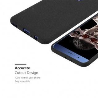 Cadorabo Hülle für Honor 8 PRO in FROST SCHWARZ - Handyhülle aus flexiblem TPU Silikon - Silikonhülle Schutzhülle Ultra Slim Soft Back Cover Case Bumper - Vorschau 2