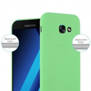 Cadorabo Hülle für Samsung Galaxy A5 2017 in CANDY PASTELL GRÜN - Handyhülle aus flexiblem TPU Silikon - Silikonhülle Schutzhülle Ultra Slim Soft Back Cover Case Bumper - Vorschau 2