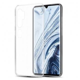Cadorabo Hülle für Xiaomi RedMi NOTE 10 in VOLL TRANSPARENT Handyhülle aus flexiblem TPU Silikon Silikonhülle Schutzhülle Ultra Slim Soft Back Cover Case Bumper