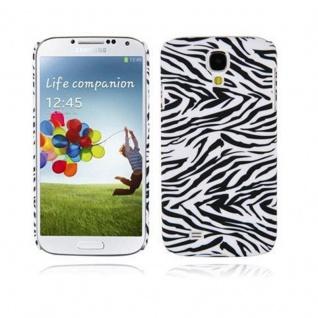 Cadorabo - Hard Cover für Samsung Galaxy S4 - Case Cover Schutzhülle Bumper im Design: ZEBRA
