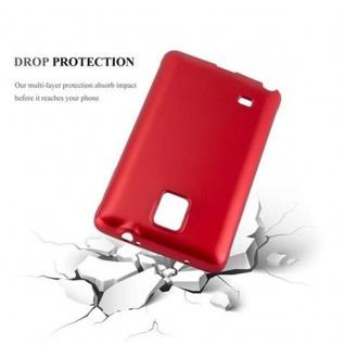 Cadorabo Hülle für Samsung Galaxy NOTE 4 in METALLIC ROT - Handyhülle aus flexiblem TPU Silikon - Silikonhülle Schutzhülle Ultra Slim Soft Back Cover Case Bumper - Vorschau 3