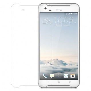 Cadorabo Panzer Folie für HTC ONE X9 - Schutzfolie in KRISTALL KLAR - Gehärtetes (Tempered) Display-Schutzglas in 9H Härte mit 3D Touch Kompatibilität