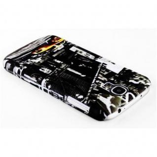 Cadorabo - Hard Cover für Samsung Galaxy S4 MINI - Case Cover Schutzhülle Bumper im Design: NEW YORK CAB - Vorschau 2