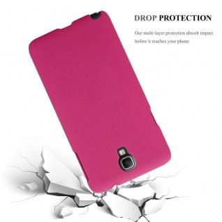 Cadorabo Hülle für Samsung Galaxy NOTE 3 NEO in FROSTY PINK - Hardcase Handyhülle aus Plastik gegen Kratzer und Stöße - Schutzhülle Bumper Ultra Slim Back Case Hard Cover - Vorschau 4