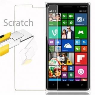 Cadorabo Panzer Folie für Nokia Lumia 830 - Schutzfolie in KRISTALL KLAR - Gehärtetes (Tempered) Display-Schutzglas in 9H Härte mit 3D Touch Kompatibilität - Vorschau 2