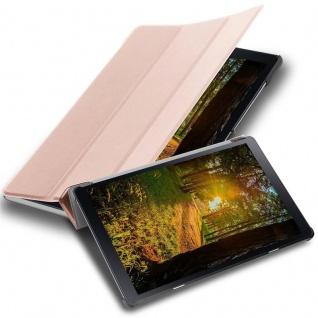 """Cadorabo Tablet Hülle für Samsung Galaxy Tab A (10, 5"""" Zoll) T590 in PASTELL ROSÉ GOLD Ultra Dünne Book Style Schutzhülle mit Auto Wake Up und Standfunktion aus Kunstleder"""