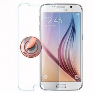 Cadorabo Panzer Folie für Samsung Galaxy S6 - Schutzfolie in KRISTALL KLAR - Gehärtetes (Tempered) Display-Schutzglas in 9H Härte mit 3D Touch Kompatibilität - Vorschau 4
