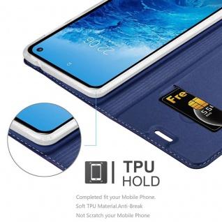 Cadorabo Hülle für Samsung Galaxy S10e in CLASSY DUNKEL BLAU - Handyhülle mit Magnetverschluss, Standfunktion und Kartenfach - Case Cover Schutzhülle Etui Tasche Book Klapp Style - Vorschau 5
