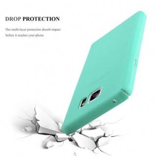 Cadorabo Hülle für Samsung Galaxy NOTE 5 in FROSTY GRÜN - Hardcase Handyhülle aus Plastik gegen Kratzer und Stöße - Schutzhülle Bumper Ultra Slim Back Case Hard Cover - Vorschau 4