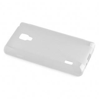 Cadorabo Hülle für LG OPTIMUS L7 (2.Gen.) in MAGNESIUM WEIß - Handyhülle aus flexiblem TPU Silikon - Silikonhülle Schutzhülle Ultra Slim Soft Back Cover Case Bumper - Vorschau 5