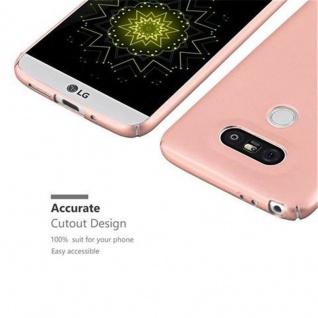 Cadorabo Hülle für LG G5 in METALL ROSE GOLD ? Hardcase Handyhülle aus Plastik gegen Kratzer und Stöße ? Schutzhülle Bumper Ultra Slim Back Case Hard Cover - Vorschau 3