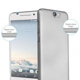 Cadorabo Hülle für HTC One A9 in METALL SILBER ? Hardcase Handyhülle aus Plastik gegen Kratzer und Stöße ? Schutzhülle Bumper Ultra Slim Back Case Hard Cover - Vorschau 2