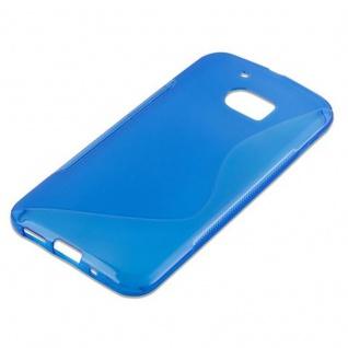 Cadorabo Hülle für HTC 10 (One M10) in ROYAL BLAU - Handyhülle aus flexiblem TPU Silikon - Silikonhülle Schutzhülle Ultra Slim Soft Back Cover Case Bumper - Vorschau 4