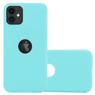 Cadorabo Hülle für Apple iPhone 11 (XI) in CANDY BLAU - Handyhülle aus flexiblem TPU Silikon - Silikonhülle Schutzhülle Ultra Slim Soft Back Cover Case Bumper