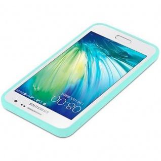 Cadorabo Hülle für Samsung Galaxy A3 2015 in CANDY BLAU - Handyhülle aus flexiblem TPU Silikon - Silikonhülle Schutzhülle Ultra Slim Soft Back Cover Case Bumper - Vorschau 4