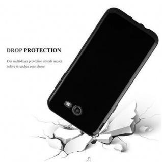 Cadorabo Hülle für Samsung Galaxy J7 2017 US Version in SCHWARZ - Handyhülle aus flexiblem TPU Silikon - Silikonhülle Schutzhülle Ultra Slim Soft Back Cover Case Bumper - Vorschau 3