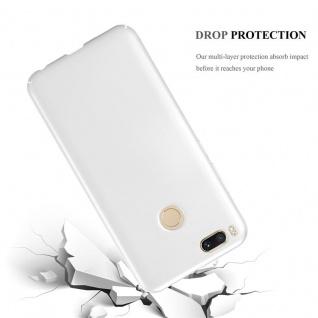 Cadorabo Hülle für Xiaomi Mi A1 / 5X in METALL SILBER - Hardcase Handyhülle aus Plastik gegen Kratzer und Stöße - Schutzhülle Bumper Ultra Slim Back Case Hard Cover - Vorschau 3
