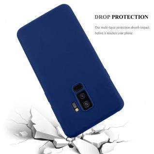 Cadorabo Hülle für Samsung Galaxy S9 PLUS in CANDY DUNKEL BLAU - Handyhülle aus flexiblem TPU Silikon - Silikonhülle Schutzhülle Ultra Slim Soft Back Cover Case Bumper - Vorschau 4