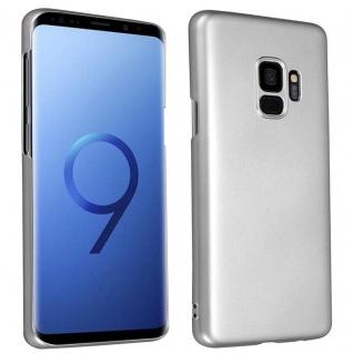 Cadorabo Hülle für Samsung Galaxy S9 in METALL SILBER ? Hardcase Handyhülle aus Plastik gegen Kratzer und Stöße ? Schutzhülle Bumper Ultra Slim Back Case Hard Cover