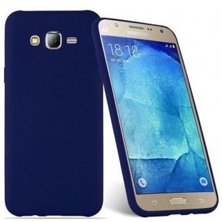 Cadorabo Hülle für Samsung Galaxy J7 2015 in CANDY DUNKEL BLAU - Handyhülle aus flexiblem TPU Silikon - Silikonhülle Schutzhülle Ultra Slim Soft Back Cover Case Bumper - Vorschau 2