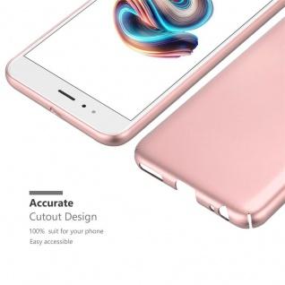 Cadorabo Hülle für Xiaomi Mi A1 / 5X in METALL ROSÉ GOLD ? Hardcase Handyhülle aus Plastik gegen Kratzer und Stöße ? Schutzhülle Bumper Ultra Slim Back Case Hard Cover - Vorschau 5