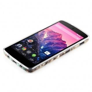 Cadorabo - Hard Cover für LG Google Nexus 5 - Case Cover Schutzhülle Bumper im Design: NEW YORK - FREIHEITSSTATUE - Vorschau 4