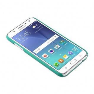 Samsung Galaxy J5 2015 Hardcase Hülle in GRÜN von Cadorabo - Blumen Paisley Henna Design Schutzhülle ? Handyhülle Bumper Back Case Cover - Vorschau 2