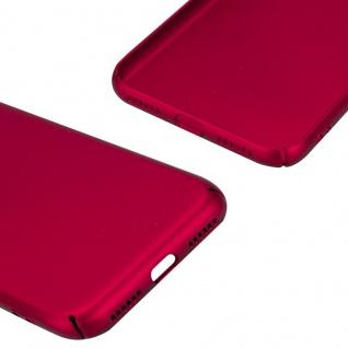Cadorabo Hülle für Apple iPhone X / XS in METALL ROT ? Hardcase Handyhülle aus Plastik gegen Kratzer und Stöße ? Schutzhülle Bumper Ultra Slim Back Case Hard Cover - Vorschau 5