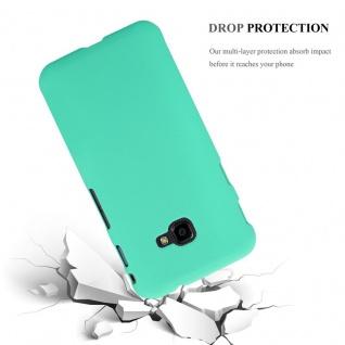 Cadorabo Hülle für Samsung Galaxy XCover 4 in FROSTY GRÜN - Hardcase Handyhülle aus Plastik gegen Kratzer und Stöße - Schutzhülle Bumper Ultra Slim Back Case Hard Cover - Vorschau 3