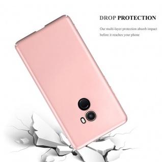 Cadorabo Hülle für Xiaomi Mi Mix 2 in METALL ROSÉ GOLD ? Hardcase Handyhülle aus Plastik gegen Kratzer und Stöße ? Schutzhülle Bumper Ultra Slim Back Case Hard Cover - Vorschau 3
