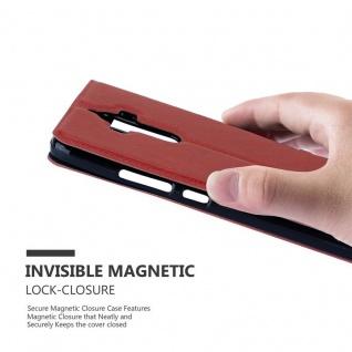 Cadorabo Hülle für Huawei MATE 9 in SAFRAN ROT ? Handyhülle mit Magnetverschluss, Standfunktion und 2 Sichtfenstern ? Case Cover Schutzhülle Etui Tasche Book Klapp Style - Vorschau 5
