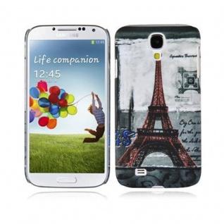 Cadorabo - Hard Cover für Samsung Galaxy S4 - Case Cover Schutzhülle Bumper im Design: PARIS - EIFFELTURM