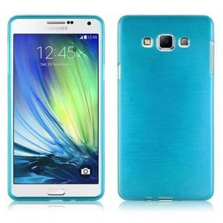 Cadorabo Hülle für Samsung Galaxy A7 2015 in TÜRKIS - Handyhülle aus flexiblem TPU Silikon - Silikonhülle Schutzhülle Ultra Slim Soft Back Cover Case Bumper